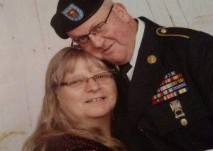 Josephine Bush and husband