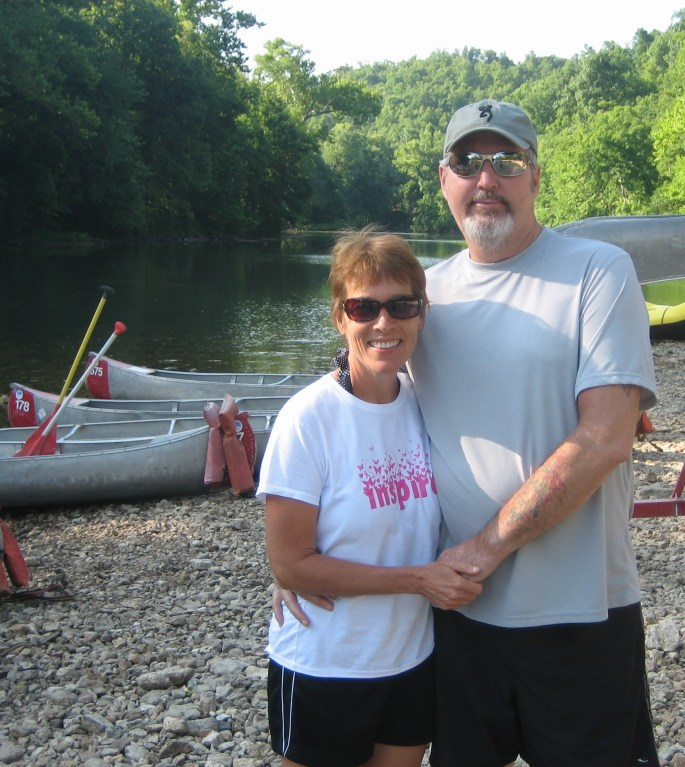 Uncle Bill and wife Glenda