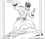 powerrangers coloring pages