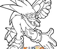 sonic storm coloring pages kids printable free