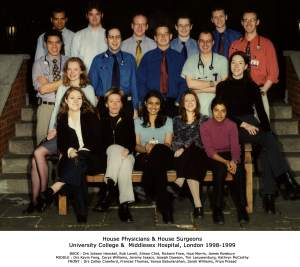 University College & Middlesex Hospital London 1998-99