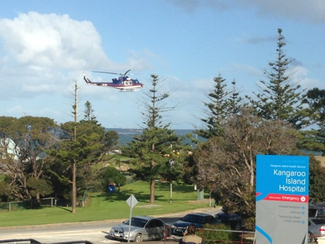 Rural hospitals are well supported by retrieval services in Australia