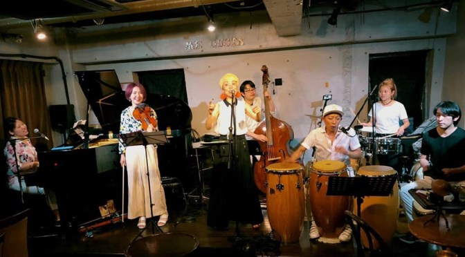 2019/6/23 Cubalada 3rd Live@関内Megusta