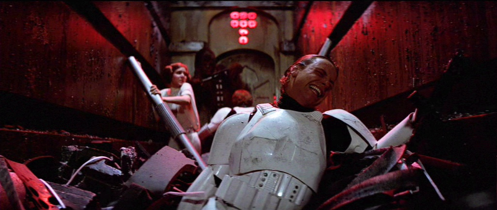 Image result for star wars walls closing in