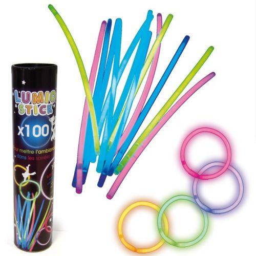 Sticks luminosos x100