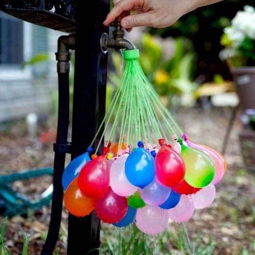 Bouquet de 37 balões de água x3