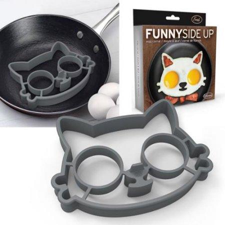 Molde para 2 ovos – Gato