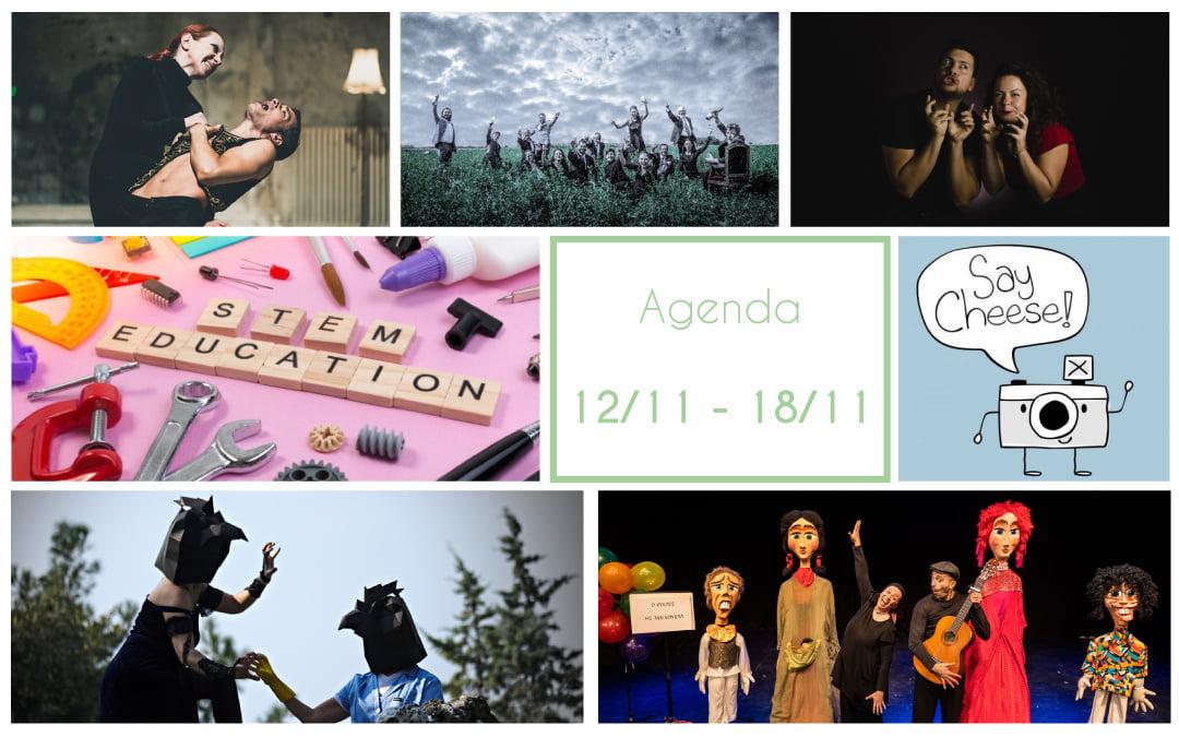 Agenda 12/11 – 18/11