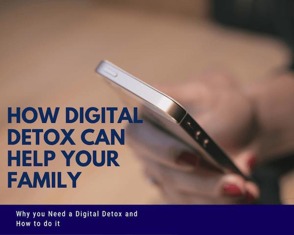 digital detox for family