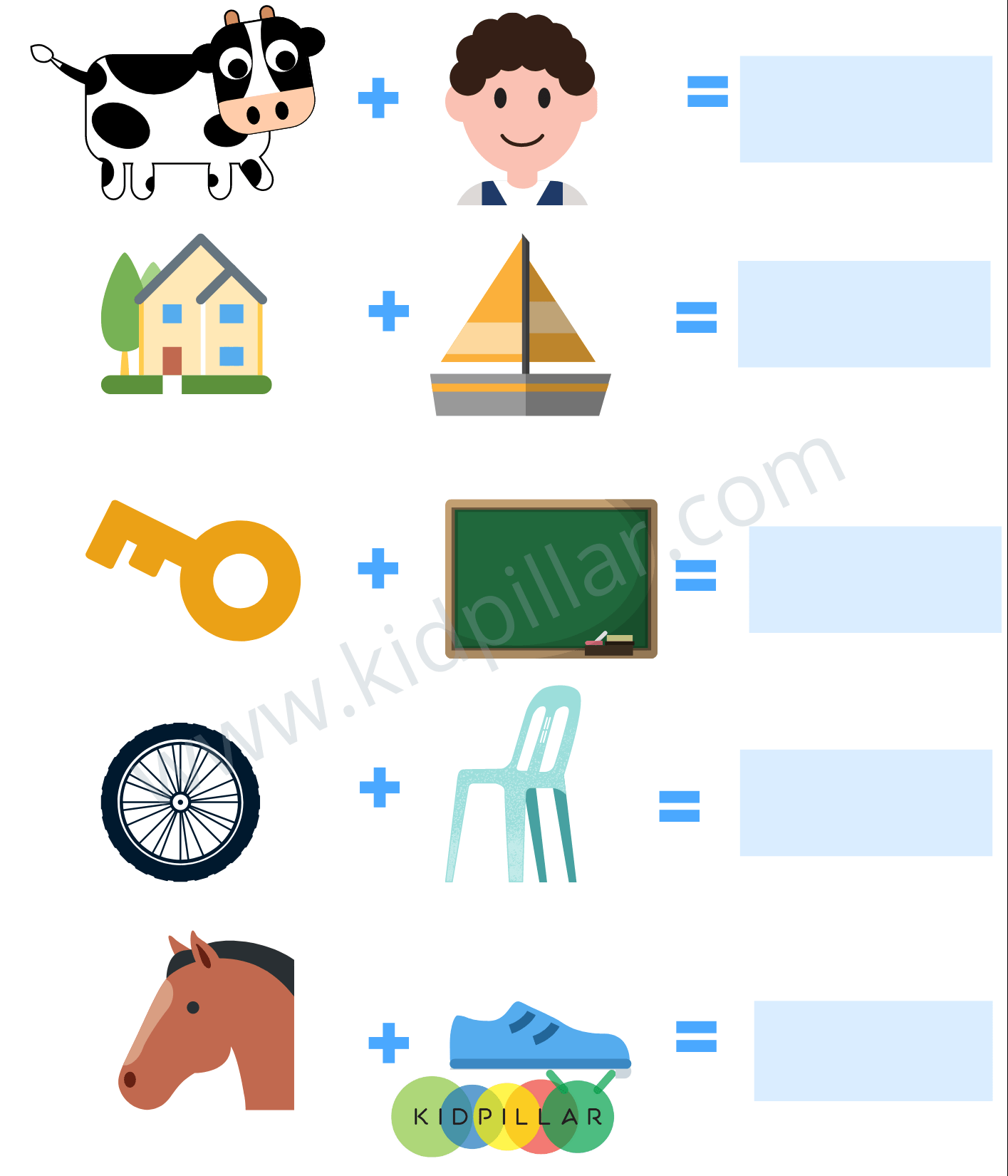 Picture puzzles for kids