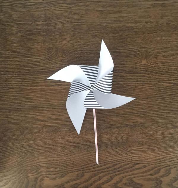 paper pinwheel for kids
