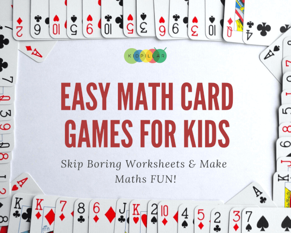 Easy math card games for lkids