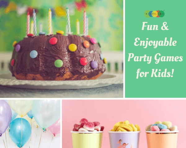 Fun easy Party Games for Kids
