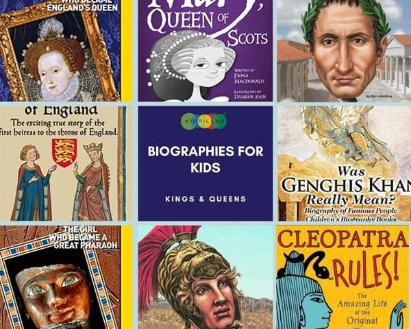 Kings & Queens Biographies for kids