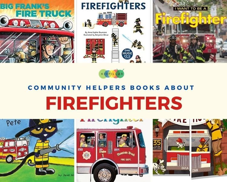 Firefighters books for kids