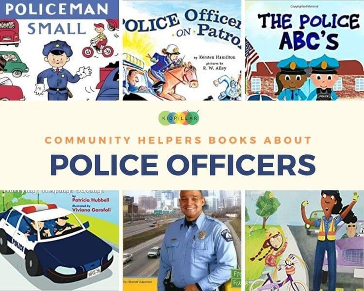 Police officers Community helper books for kids