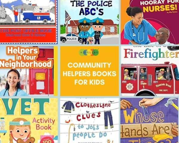 Community helpers Books for kids