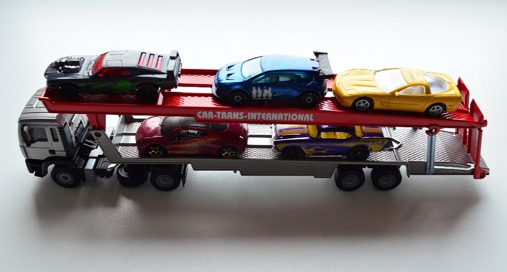 Siku Car Transporter with diecast cars