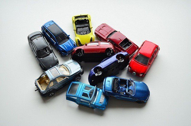 lot of Bburago broken 1:43 diecast cars