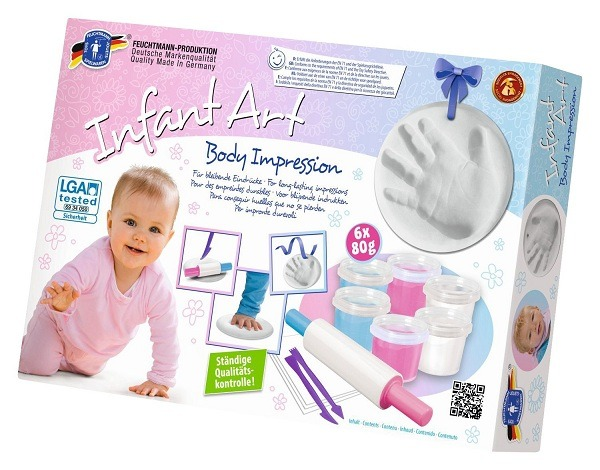 Feuchtmann Infant Art Body Impression Clay Kit