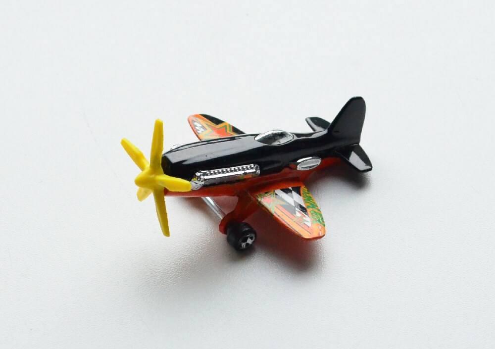 Black Daredevil Hot Wheels diecase airplane
