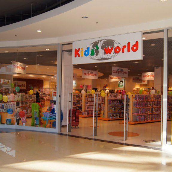 Zabawki dla dzieci w sklepach Kids World Białystok