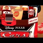 2013 Cars 2 Mack Semi Truck Deluxe Series Rust-eze Racing Series Disney Pixar Mattel toys