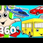 360 DEGREE 3D VR FINGER FAMILY Kids Songs Collection | SPORTS BALLS Surprise Eggs Nursery Rhymes