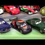 7-pack Cars 2 Tokyo Race Day Disney Pixar David Hobbscap, Lightning McQueen, Shu Todoroki car-toys