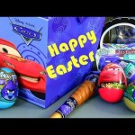 Angry Birds Toy Surprise Easter Eggs CARS 2 Holiday Edition Disney Pixar Epic Review by Funtoys