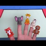 Animal Finger Family Nursery Rhyme – Family Finger Daddy Finger Song