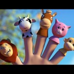 Animals Finger Family   Nursery Rhymes Song For Babies   3D Rhyme Children's Video