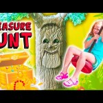 ASSISTANT Talking Tree Treasure Hunt TheEngineeringFamily  Kids Funny Video Adventure