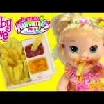 Baby Alive Snackin' Sarah Eats Yummy Nummies Fries and Poops