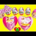 Barbie Surprise Eggs Hearts Kinder Surprise Eggs