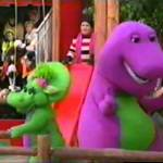Barney in the 2002 Macy's Thanksgiving Day Parade