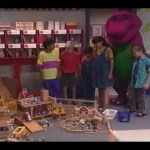 Barney & the Backyard Gang: Barney Goes to School (1990,Episode 6)`