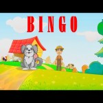 ❤ Bingo dog song ❤ Baby song – Nursery Rhyme with lyrics and action in english