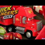 Carros 2 Mack Caminhão Da Equipe Relâmpago Mcqueen Quick Changers Dublado em Portugues Brazil