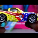 Cars 2 Jeff Gorvette #7 diecast from Disney Cars 2 Mattel Pixar figure
