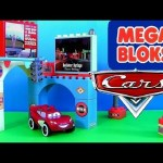 Cars Mega Bloks Glow in the Dark Playset 7787 Cruisin' Lightning McQueen Disney Pixar Supercharged