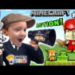 Chase's Corner: Boys Make a Minecraft Movie w/ OBSIDIAN Series 4 STOP-MOTION! (#22) | DOH MUCH FUN