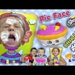 Chase's Corner: PIE FACE CHALLENGE w/ SHOPKINS Game! Season 3 Blind Bags  (#16) | DOH MUCH FUN