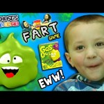 Chase's Corner: TALKING FART!  Gas Out Game w/ Guster the Stink Cloud (#31) | DOH MUCH FUN