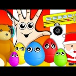 Christmas Collection – Finger Family, Five Little Monkeys, Nursery Rhymes & Learning Videos For Kids