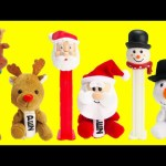 Christmas Pez Candy Dispensers