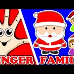 Christmas Santa Claus Finger Family | Surprise Eggs Nursery Rhymes | Song For Kids Toddlers Babies