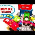 Chuggington Trains on Thomas and Friends Percy Take N Play Go Go Speedy Railway