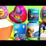 Cupcake Surprise Princess Anna Disney Frozen Shopkins Egg Disney Tsum Tsum Chupa Chups Peppa Pig