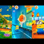 Despicable Me: Run Minions. The perfect scamper from the mine to the beach + BOSS + Secret LOVE room